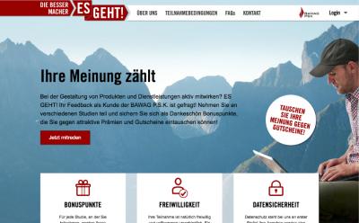 Bessermacher - Customer panel for BAWAG PSK
